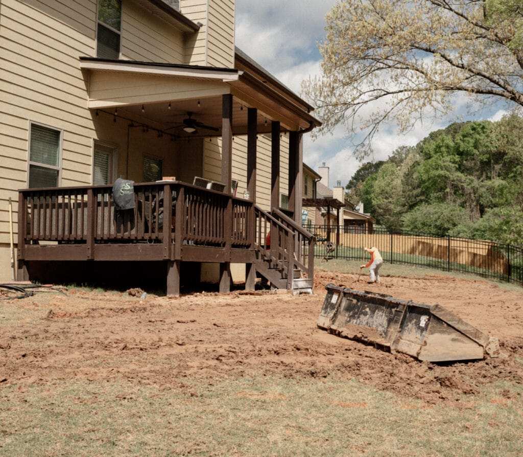 Hoschton Backyard Remodel
